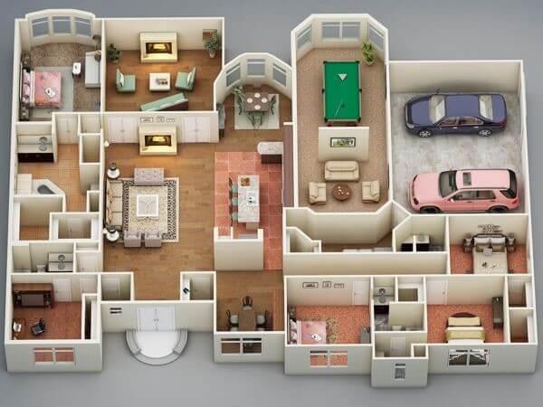 Residência Unifamiliar A. A. Residência Unifamiliar A. A. Foto 03 Projetos Projetos Foto 03