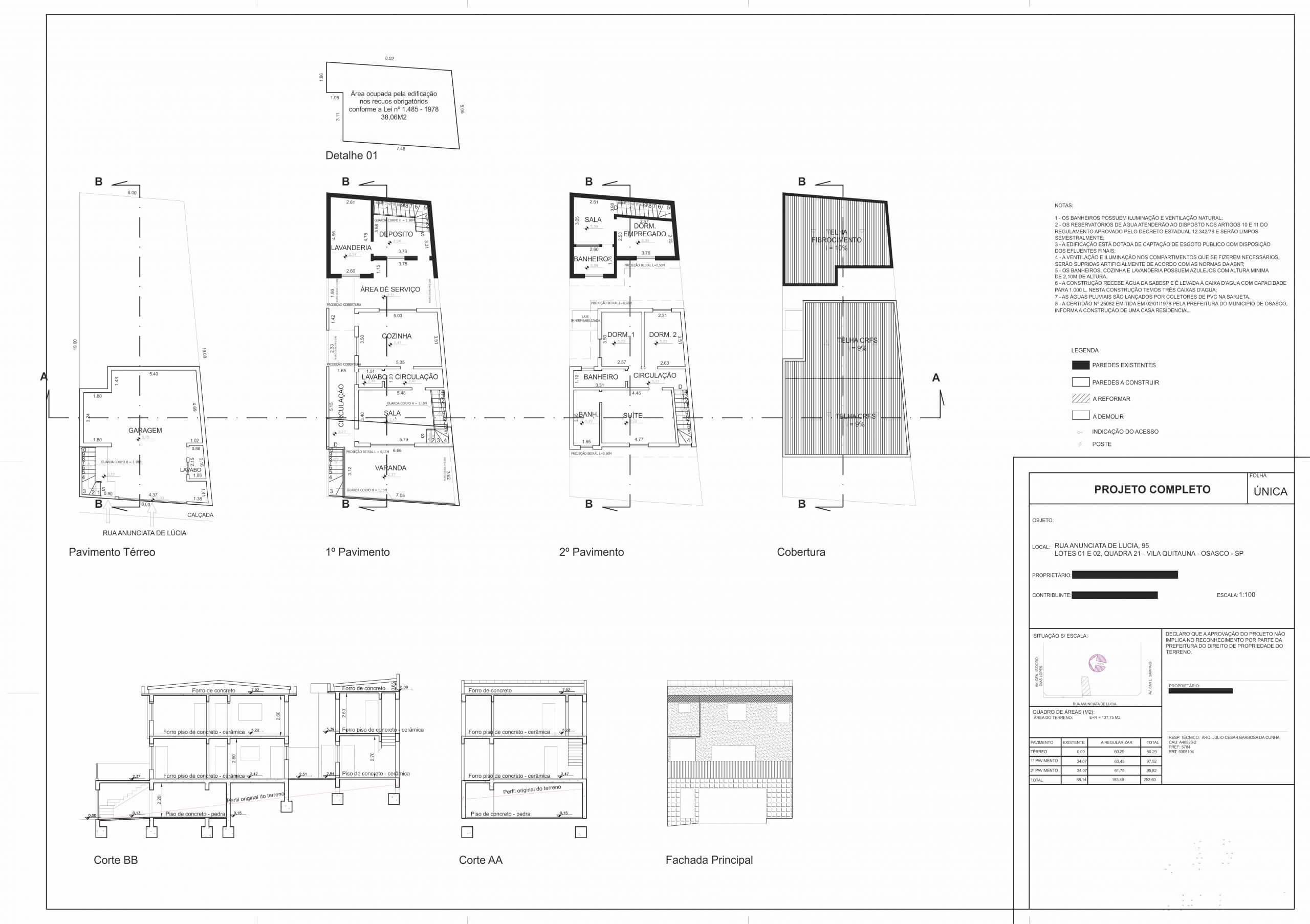 Regularização Fundiária: Imóvel Residencial Unifamiliar R.F. Regularização Fundiária: Imóvel Residencial Unifamiliar R.F. Foto 32 scaled Projetos Projetos Foto 32 scaled